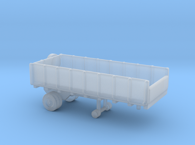 1/245 Scale Cargo Trailer in Smooth Fine Detail Plastic