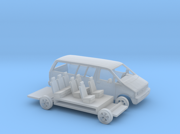 1/87 1986-95 Ford Aerostar Extended Kit in Frosted Ultra Detail