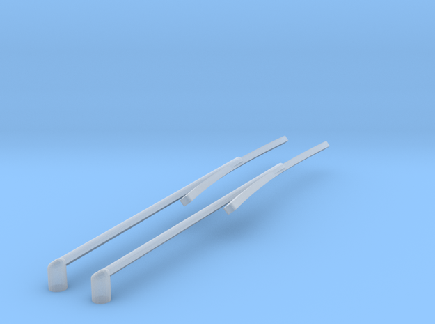 Windscreen wipers - Plymouth Sport Fury '67 in Smoothest Fine Detail Plastic