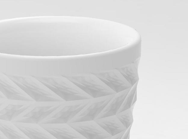 one cup a day | Day 12: ZigZag Cup 3d printed detail