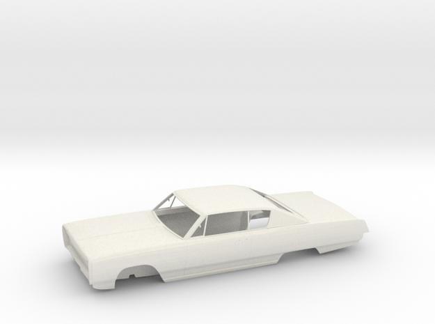 Plymouth Sport Fury '67 - Bodywork in White Natural Versatile Plastic