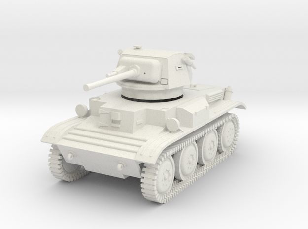 PV170F Tetrarch Light Tank (1/30) in White Strong & Flexible