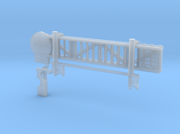 1:48 scale Walkway - Starbord - Short in Smooth Fine Detail Plastic
