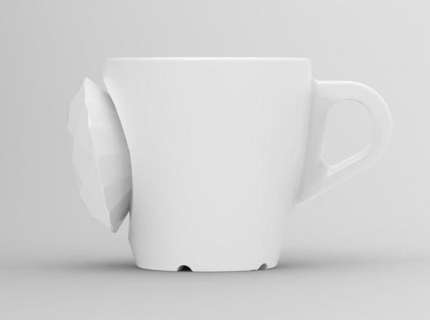 one cup a day | Day 14: Rich Bitch Cup 3d printed front