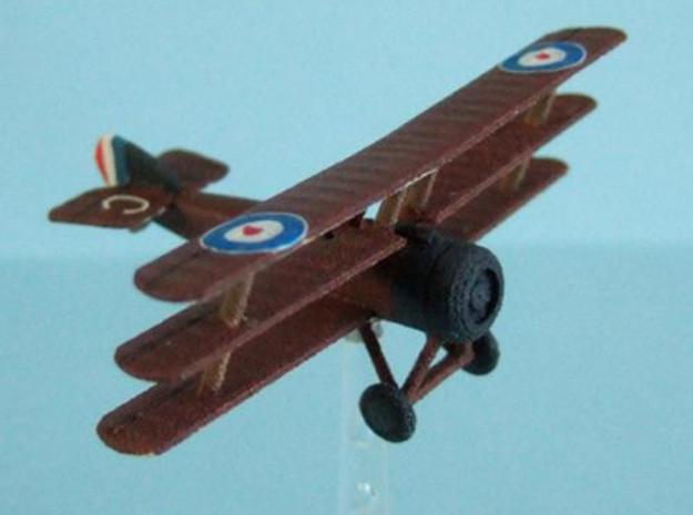 1/144 Sopwith Triplane 3d printed Descriptionphoto by Steve Blease