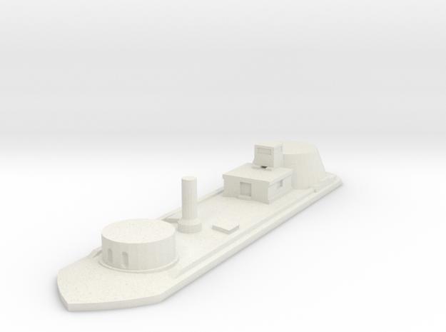 USS Osage 1/600 in White Natural Versatile Plastic