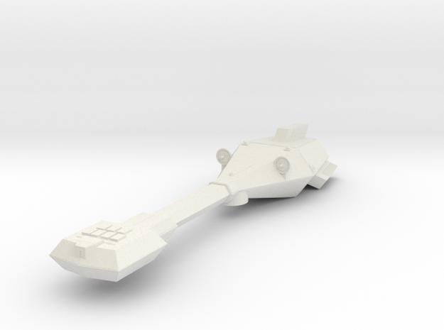 3788 Scale Trobrin Sapphire Frigate Scout (FFS) MG in White Natural Versatile Plastic
