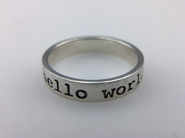Hello World Ring