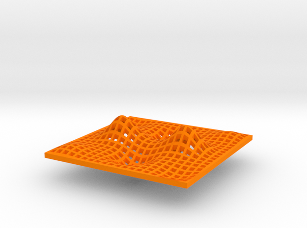 Min, Max, & Saddle Point in Orange Strong & Flexible Polished: Small
