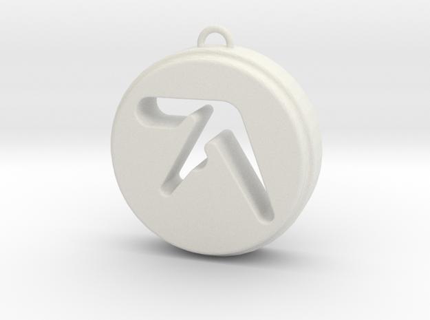 Aphex Twin in White Natural Versatile Plastic