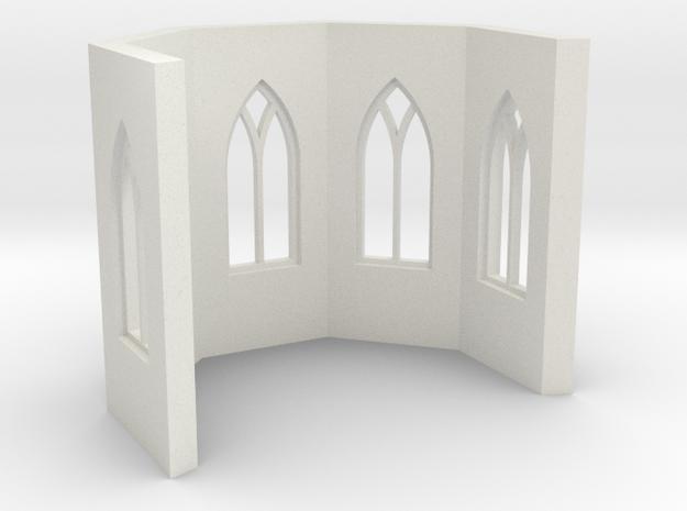 shkr019 - Teil 19 Chor mit Fenstern in White Natural Versatile Plastic