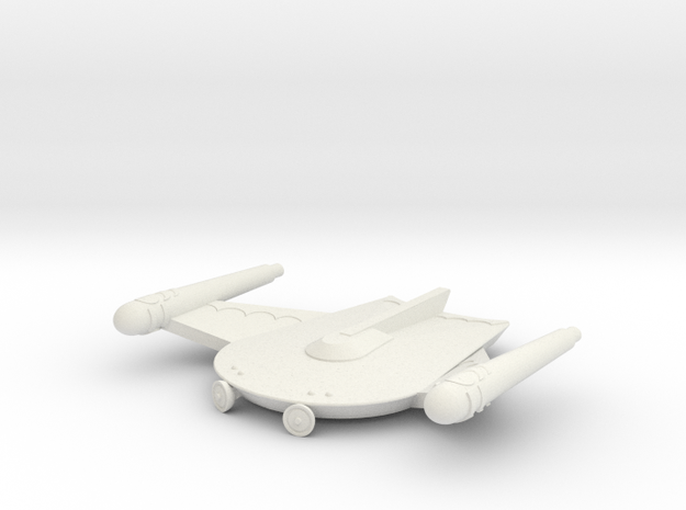 3788 Scale Romulan Scout Eagle MGL in White Natural Versatile Plastic