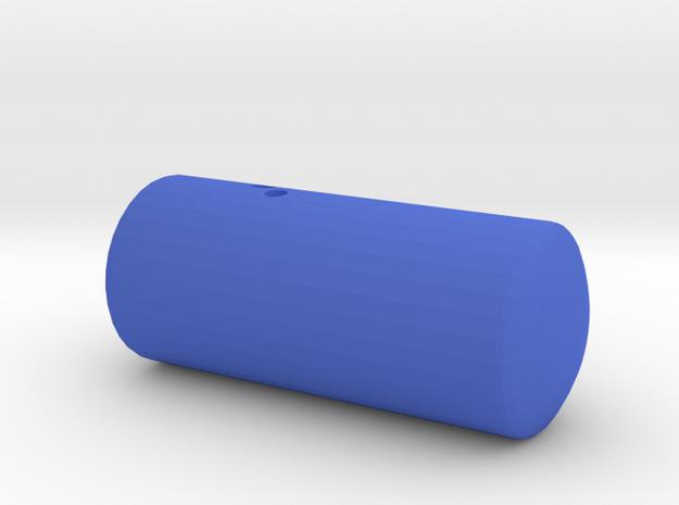 Nucleosome in Blue Processed Versatile Plastic