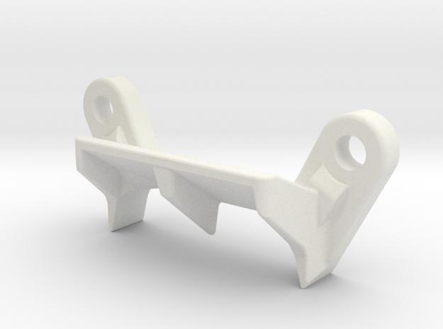 XB2 CE Rear Body Mount in White Natural Versatile Plastic