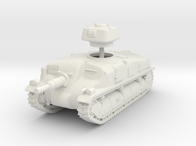1/72 SAu-40 SPG in White Strong & Flexible