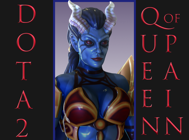 Dota2QueenOfPain in Full Color Sandstone