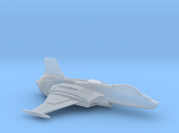 Superiority fighter MKII in Smooth Fine Detail Plastic
