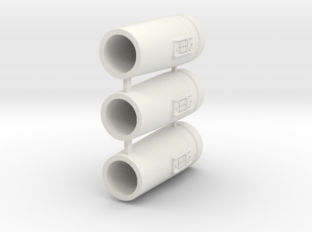1:44 Star Wars Cylinders set 02 in White Strong & Flexible