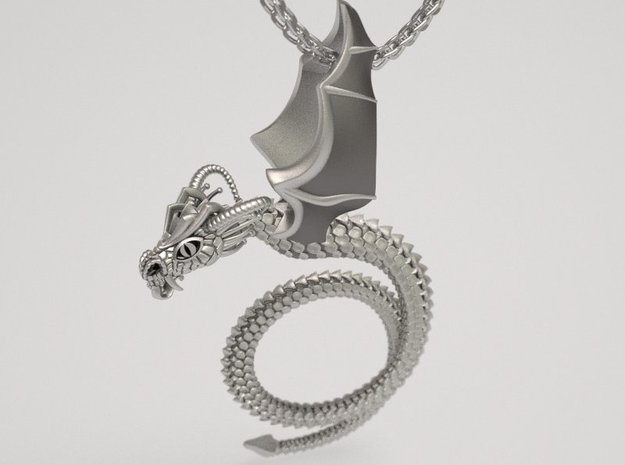 Scary Dragon pendant