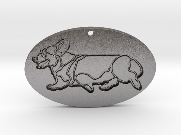 Sidegait Engraved (with hole) in Polished Nickel Steel