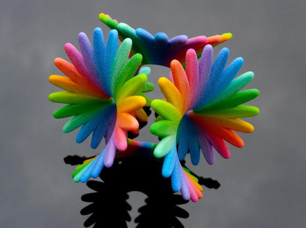 Enneper Rainbow Flower 3d printed Enneper Rainbow Flower
