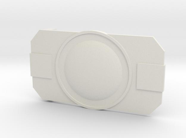 The Officer in White Premium Versatile Plastic
