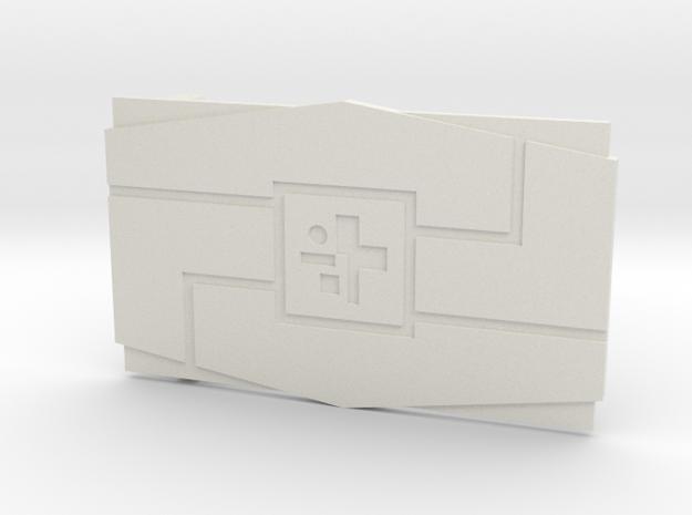 The Support in White Premium Versatile Plastic
