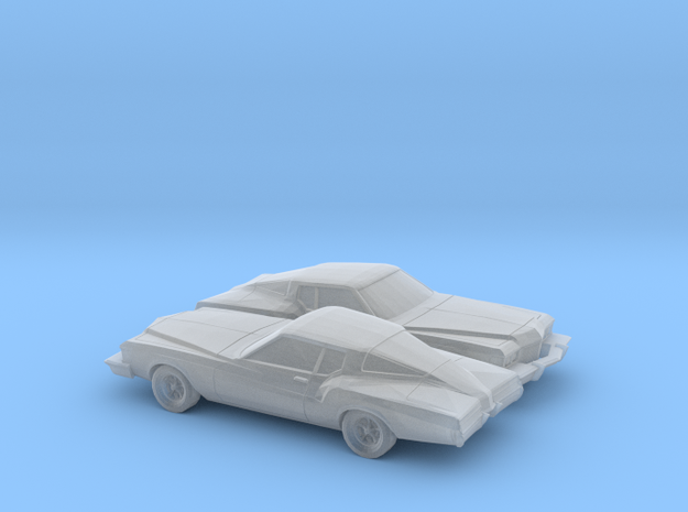 1/160 2X 1973 Buick Riviera in Frosted Ultra Detail