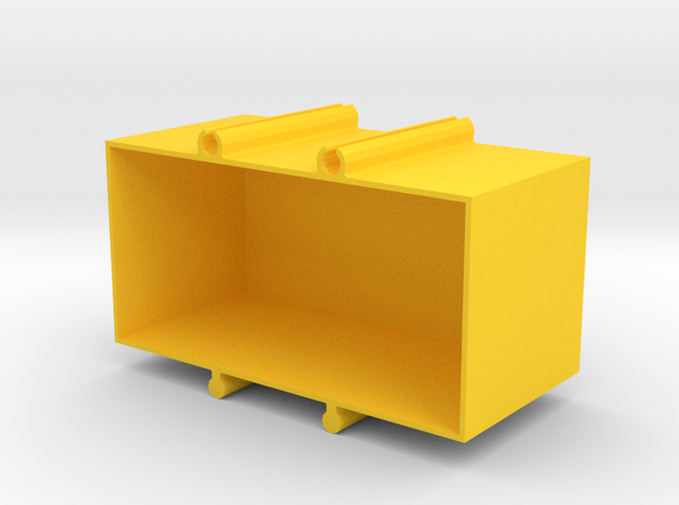 box for electrical components in Yellow Strong & Flexible Polished