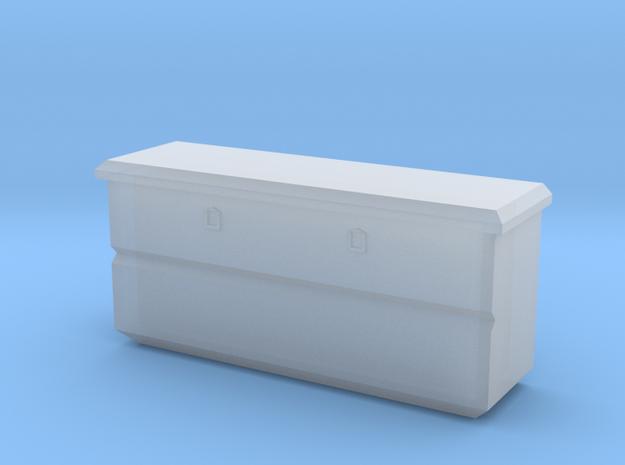 1/64 flush mount truck box in Smooth Fine Detail Plastic