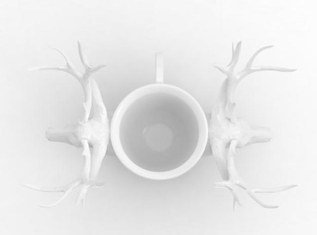 one cup a day | Day 25: Deer Cup 3d printed top