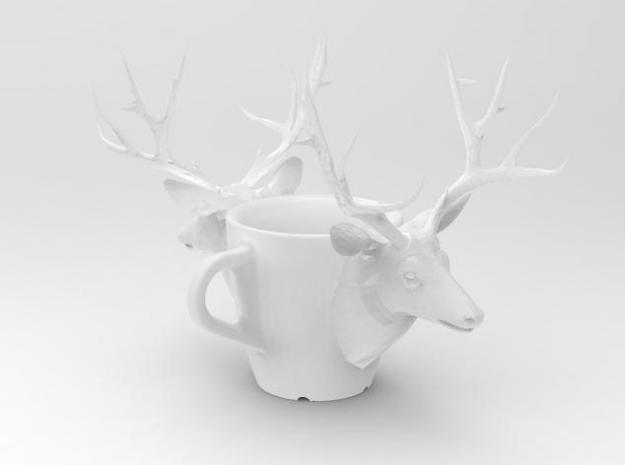 one cup a day | Day 25: Deer Cup 3d printed deer