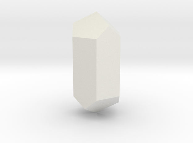 Calcite, 25 mm in White Natural Versatile Plastic