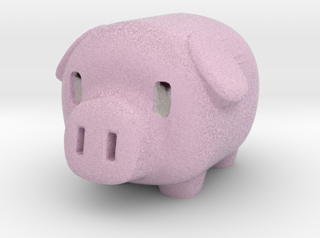Pink piggy in Full Color Sandstone
