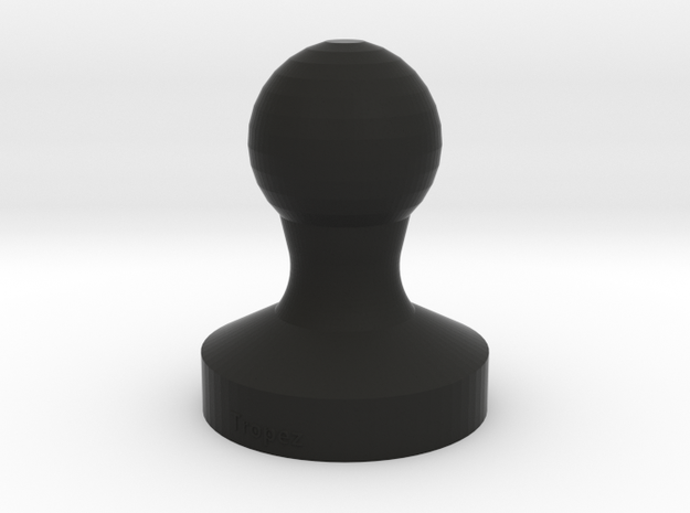 Espresso Coffee Tamper 51mm short in Black Strong & Flexible