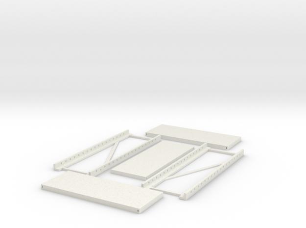 shelf 3 base in White Natural Versatile Plastic