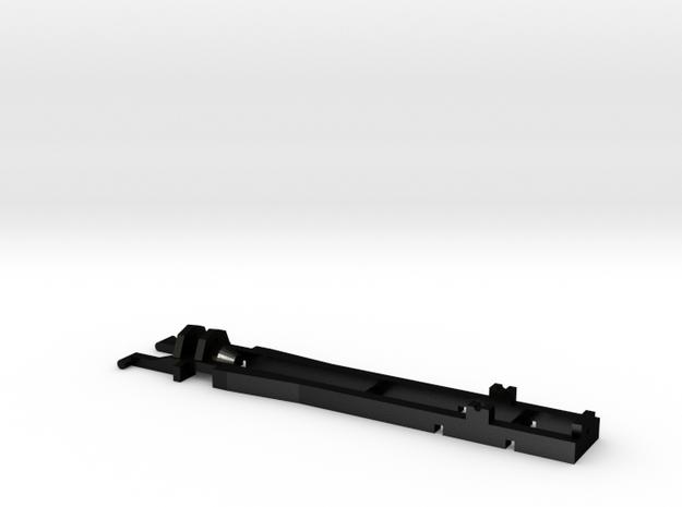 1:87 Herpa RC- frame 2 axle 55 mm in Matte Black Steel