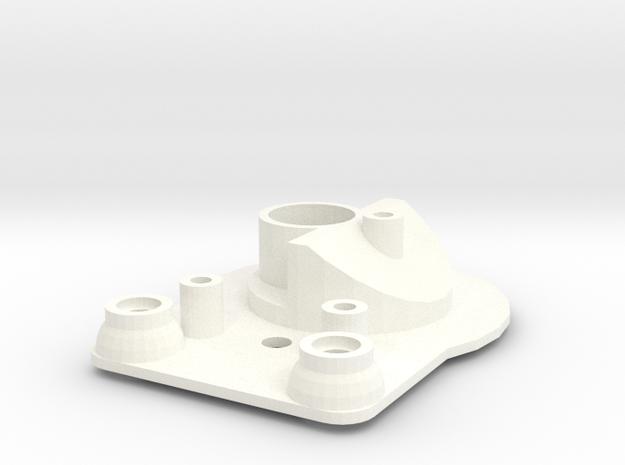 Head light reflector left Startech D90 Team Raffee in White Processed Versatile Plastic