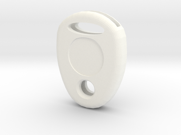 Key cap in White Strong & Flexible Polished