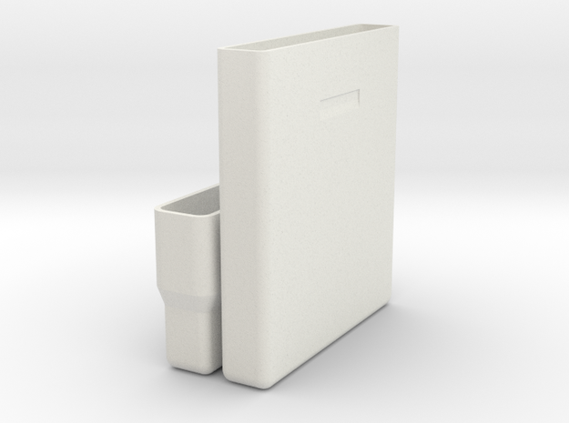 """Hard drive storage case for 2.5"""", 9.5mm drives. in White Strong & Flexible"""