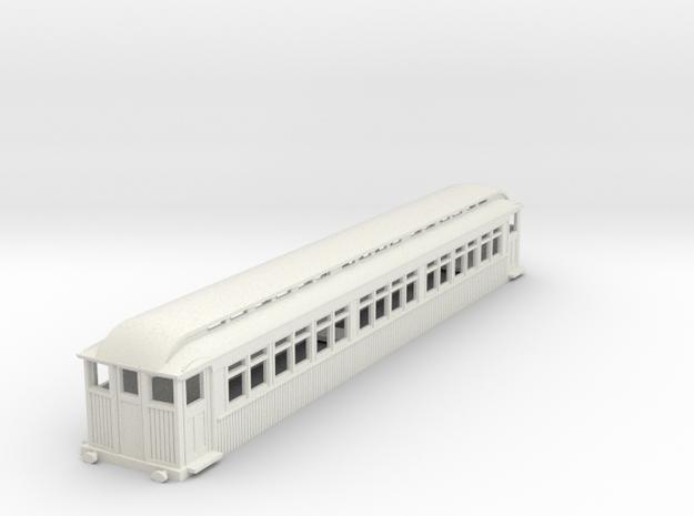 0-87-mersey-railway-1903-trailer-coach-1 in White Natural Versatile Plastic