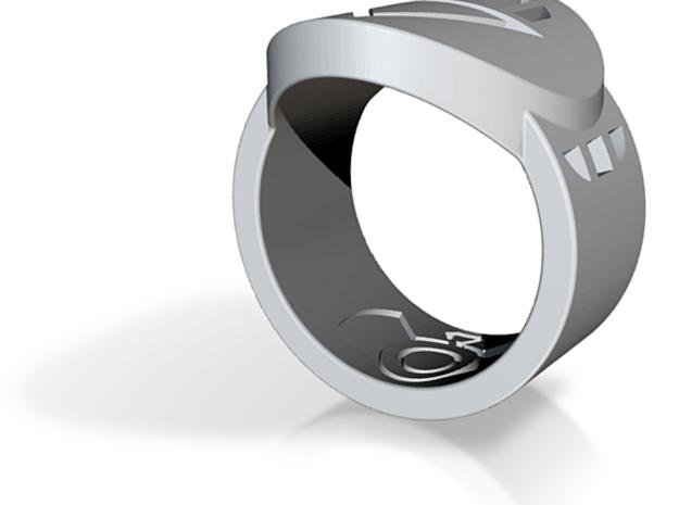 Death FF Ring Sz 8 3d printed