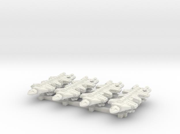1/1000 Scale 2050 War Dragons x4