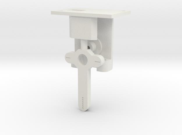 HO Steel Post Single Mech - FUD Base & Details