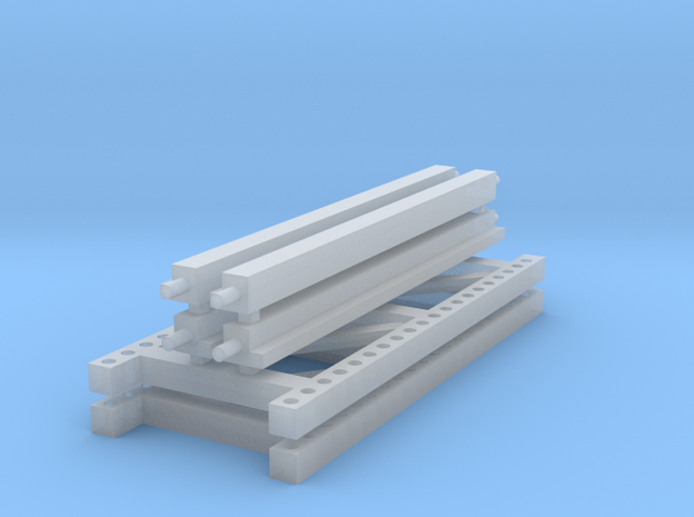1/64 2 high 8ft PR in Smooth Fine Detail Plastic