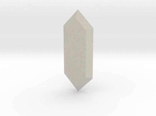 Legend of Zelda Rupee in Sandstone
