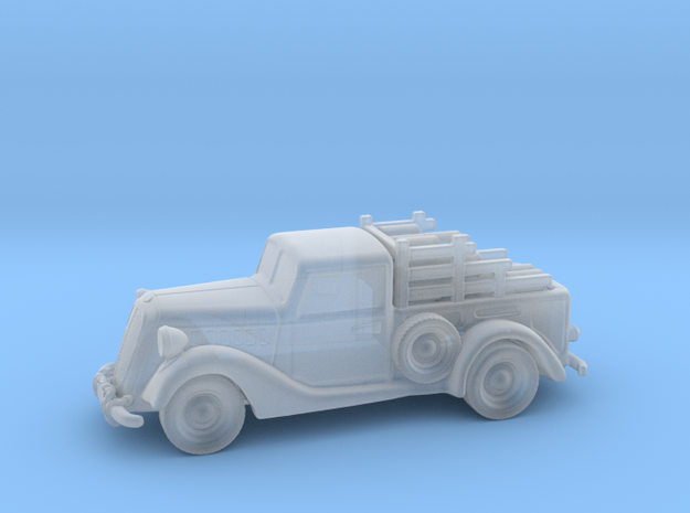 Ford Pickup 1937 1:64 S in Smooth Fine Detail Plastic