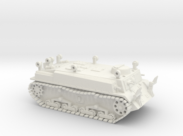 Japanese Solo SS-Ki Pioneer Tank WWII - 1/72 - 20m in White Natural Versatile Plastic