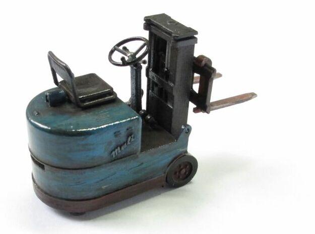 Gabelstapler Still Muli 1:45 3d printed Rückansicht
