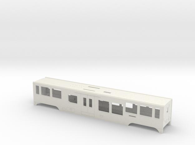 HOm MGB B4200 SFP-Body in White Natural Versatile Plastic
